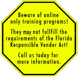 Beware of online only training programs